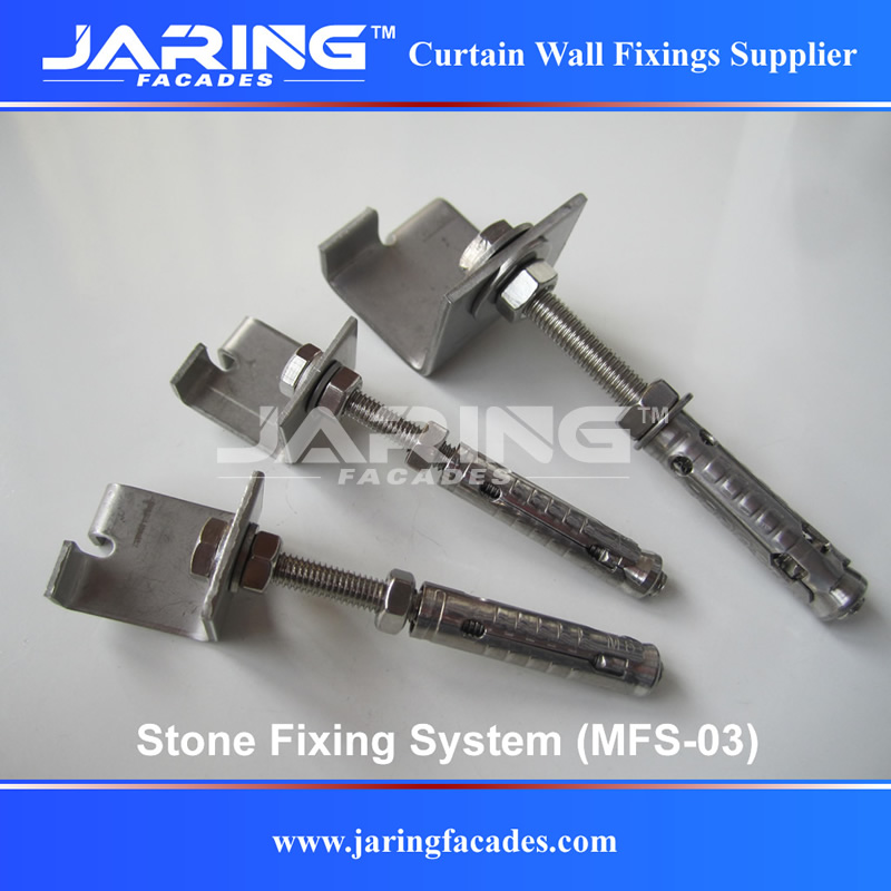 Stone Fixing System-Jaring Facades Co ,Ltd